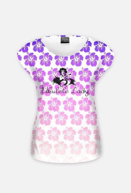 Ukulele Lady + Flowers