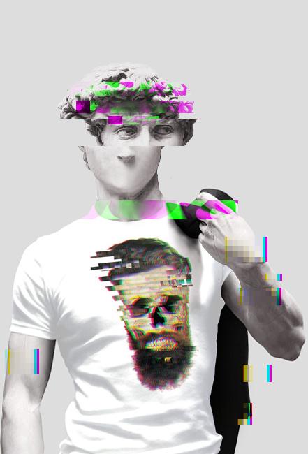 Beard Skull Glitch
