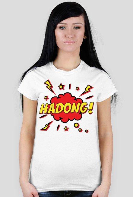 BOOM HADONG - t-shirt damski