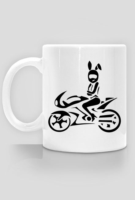 Moto króliczek kubek 1
