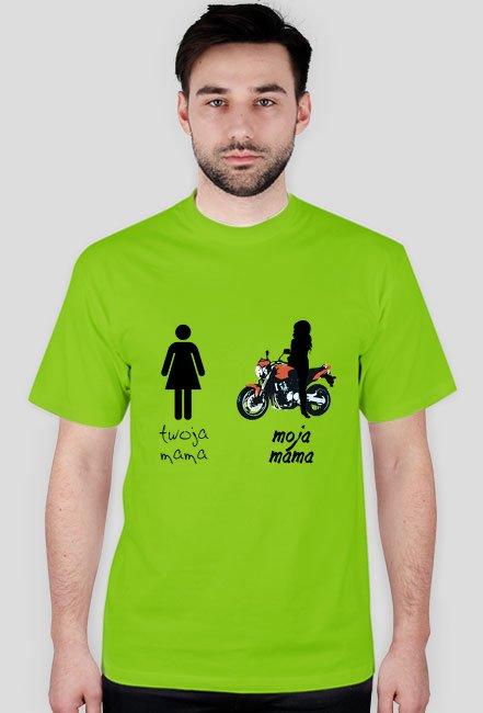 moja mama motocyklistka - hornet