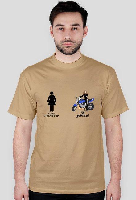 Moja dziewczyna motocyklistka - Asia honda