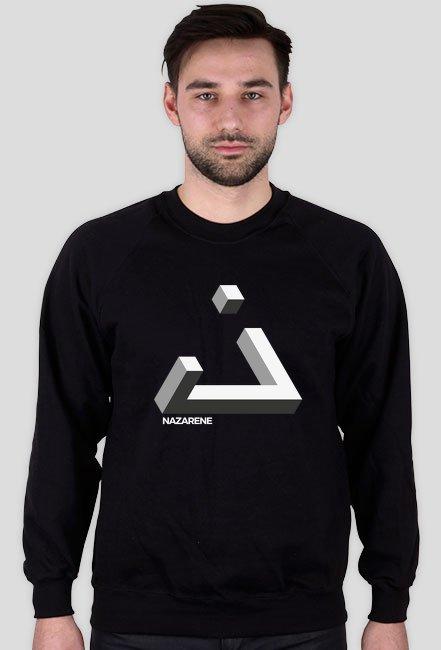 Nazarejczyk - bluza męska czarna