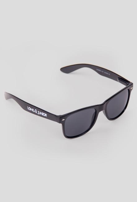 Okulary przeciwsłoneczne - Long & Junior (czarne)