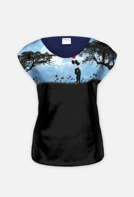 Koszulka dla Niej - Blask Księżyca