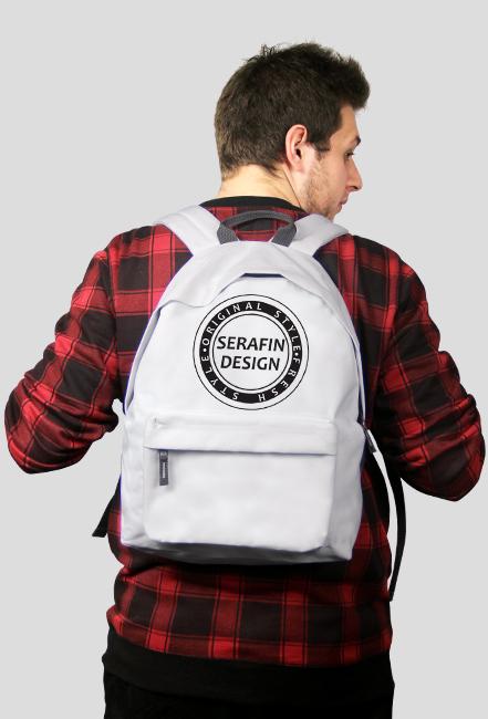 Plecak [SerafinLOGO WHITE]