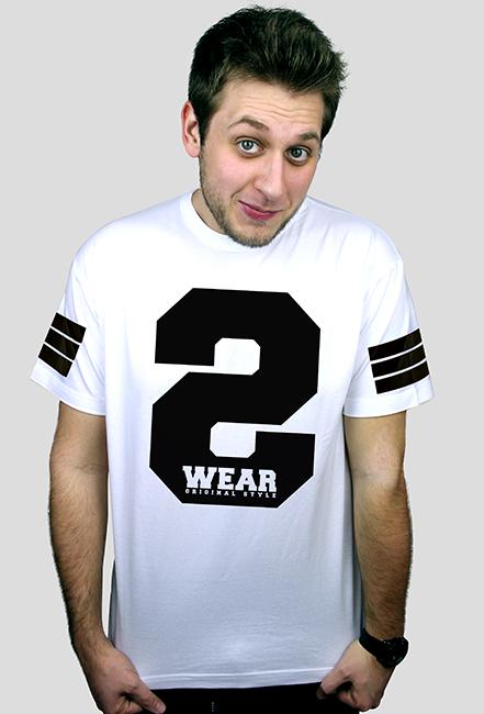 Koszulka męska [S-WEAR white]