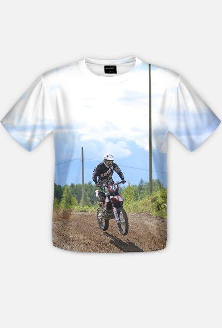 Motorbike FullPrint 3 - koszulka dla motocyklisty