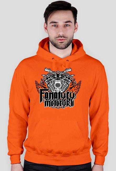 FanatycyMotocykli - Bluza motocyklowa + tył