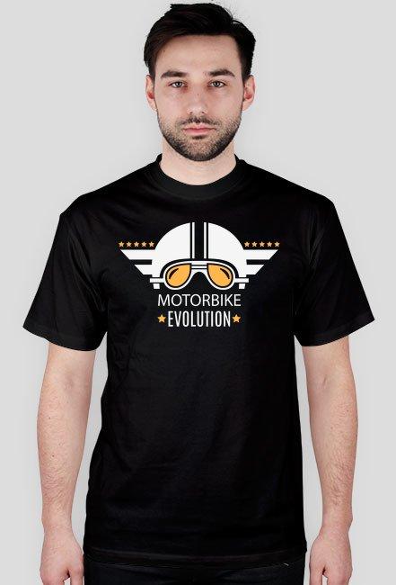 Evolution motorbike helmet - męska koszulka motocyklowa