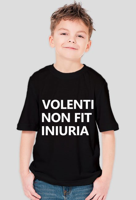 Koszulka dziecięca Volenti non fit iniuria