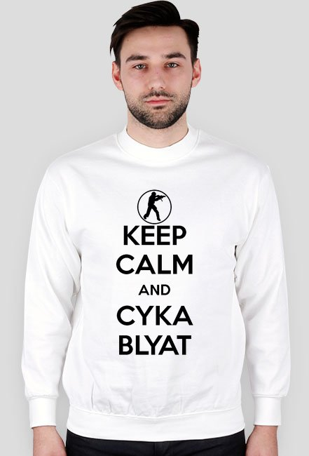 Keep Calm and Cka Blyat Bluza