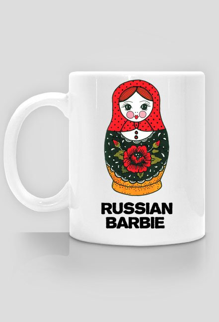 Kubek - Russian Barbie