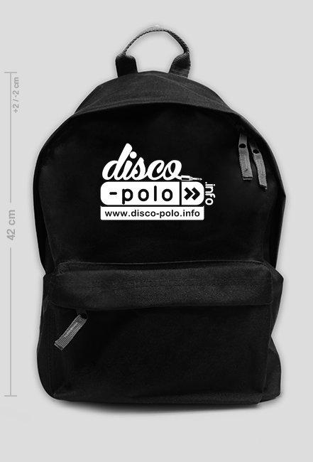 Duży plecak DISCO POLO (czarny)
