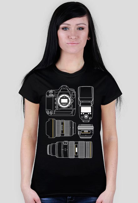 PHOTO EQUIPMENT - Koszulka fotograficzna w Camwear