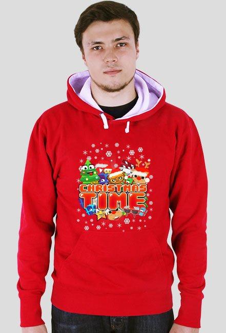 Christmas Time - Czerwona bluza