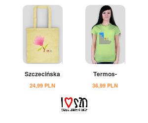 I love SZN - Zajefajne Szczecińskie Gadżety