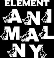Element animalny koszulka damska