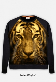 Bluza z tygrysem damska fullprint