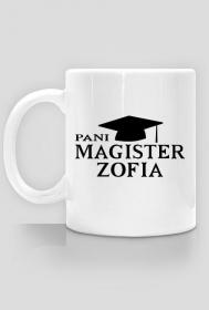 Kubek Pani Magister z imieniem Zofia