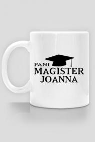 Kubek Pani Magister z imieniem Joanna