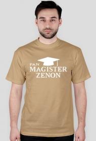 Koszulka Pan Magister z imieniem Zenon