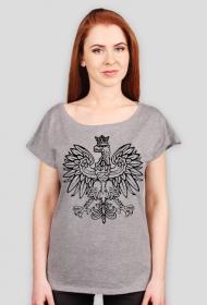 Koszulka z orłem damska