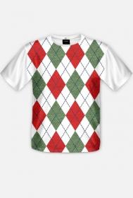 Koszulka świąteczny sweter fullprint