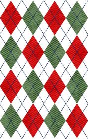 Bluza świąteczna - sweter w romby