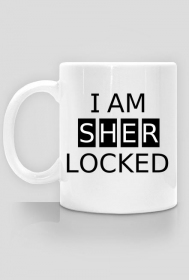 I AM SHERLOCKED kubek