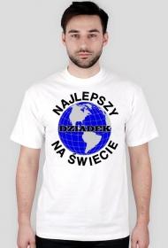 Prezent dla dziadka koszulka Najlepszy dziadek na świecie