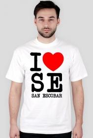 Koszulka I love San Escobar