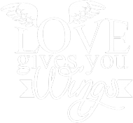 Koszulka Love gives you wings