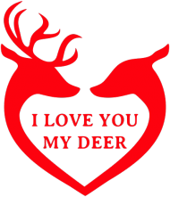 Kubek I love you my deer