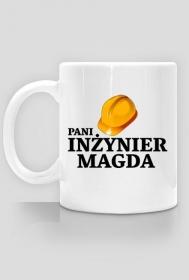 Kubek Pani inżynier z imieniem Magda