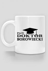 Kubek Pan Doktor z nazwiskiem