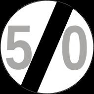 Koszulka na 50 urodziny znak 50