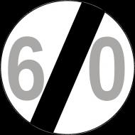 Prezent na 60 urodziny koszulka znak 60