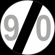 Prezent na 90 urodziny koszulka ze znakiem 90