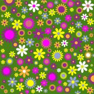 Maseczka w kwiatki 3