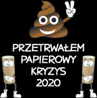 Przetrwałem kryzys papieru toaletowego 2020