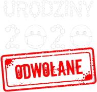 Urodziny 2020 odwołane wirus koszulka damska