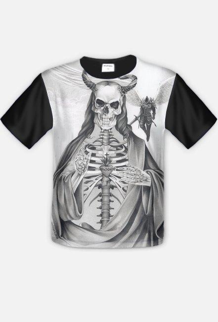 Super Koszulka szkielet fullprint - koszulki fullprint w Inne Koszulki UQ49