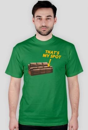 Koszulka That's my spot - Teoria wielkiego podrywu