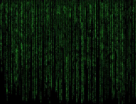 Matrix maseczka z nadrukiem