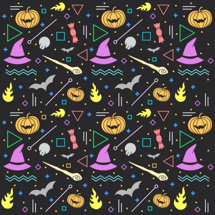 Maseczka z filtrem halloween 2