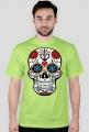Koszulka z czaszką folk sugar skull