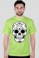 Koszulka z czaszka folk 2