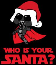 Who is your santa? Darth Vader