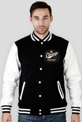 Simple Vintage Logo - Baseball Jacket - Man
